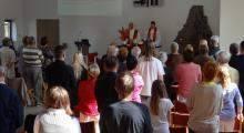 Trzy rocznice parafii w Pile
