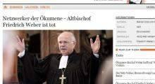 Zmarł bp Friedrich Weber