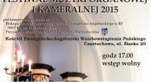 Koncerty organowe w Częstochowie