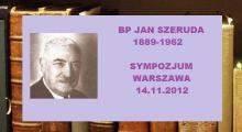 Sympozjum o bp. Janie Szerudzie
