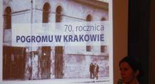 70. rocznica pogromu Żydów krakowskich