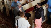 W Pokoju gościł prezydent Nadrenii-Palatynatu