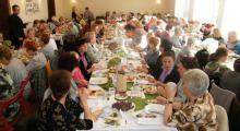 Przy śniadaniowym stole w Świętochłowicach