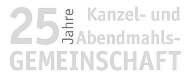 25 lat luterańsko-metodystycznej interkomunii