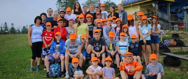 Kolonia dla dzieci z Bieszczad