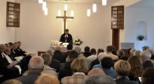 Poświęcenie kaplicy w Głogowie