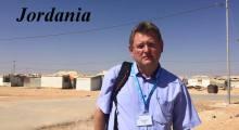 W obozie dla uchodźców w Jordanii