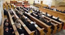 Obrady Synodu Kościoła w Cieszynie