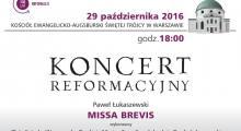 Koncert reformacyjny w Warszawie