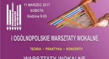 Zaproszenie na Warsztaty Wokalne