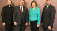 Wizyta ks. Anette Kurschus w Polsce