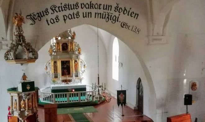 Mikołajki na Łotwie