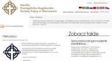 Oferta pracy w warszawskiej parafii