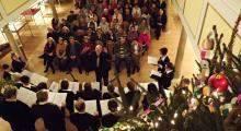 Koncert w dawnym kościele w Kromnowie