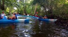 Parafialny spływ rzeką Pilawą