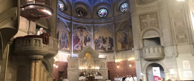 Niedzielne nabożeństwo synodalne