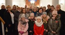 Nabożeństwo dziękczynne w Węgrowie