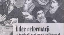 Idee reformacji w tradycji społeczno-politycznej