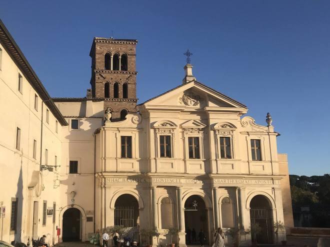 Wspomnienie bp. Juliusza Burschego w Rzymie