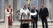 Uroczystości w kościele Świętej Trójcy w Warszawie