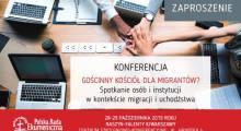 Konferencja - Gościnny Kościół dla migrantów?