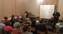 Projekcja filmu Luter w Pabianicach