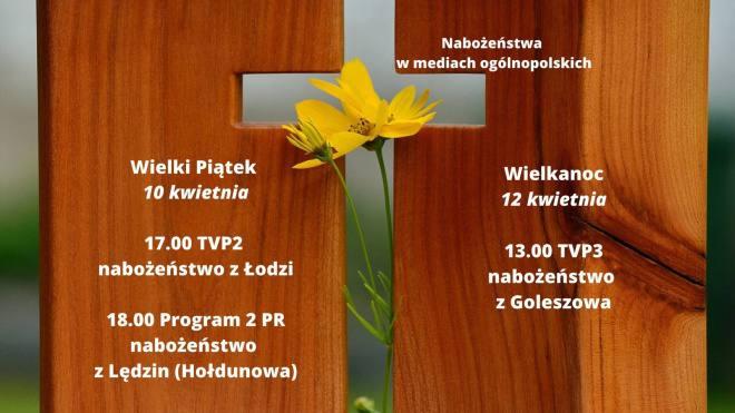 Nabożeństwa - Wielki Tydzień i Wielkanoc