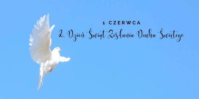 2. Święto Zesłania Ducha Świętego - transmisje