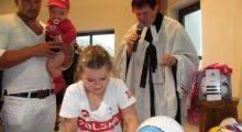 Piłkarskie nabożeństwo w Szczyrku