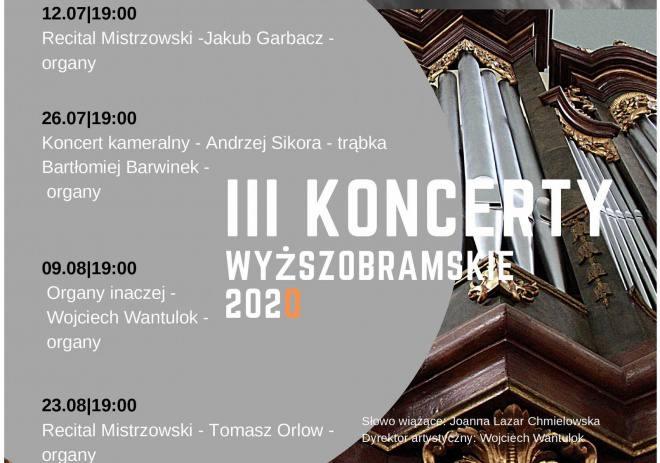 III Koncerty Wyższobramskie 2020