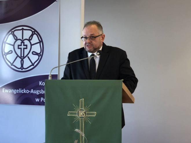 Bp Cieślar wybrany na drugą kadencję
