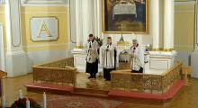 Pogrzeb śp. ks. radcy Piotra Wowrego