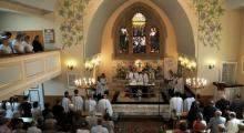 100 lat kościoła Św. Ducha w Orzeszu