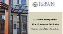XIX Forum Ewangelickie