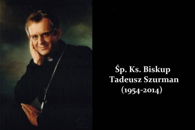 Zmarł śp. ks. bp Tadeusz Szurman