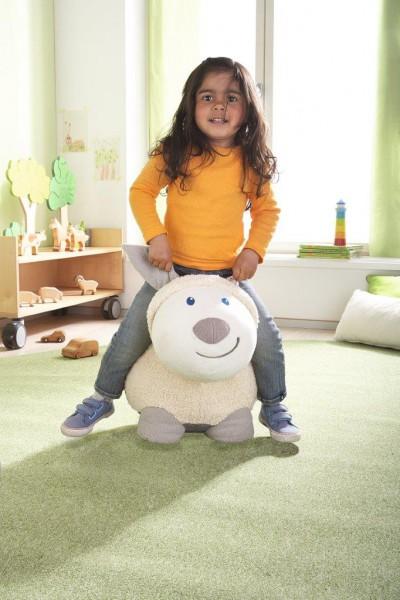 Skacząca owieczka Molly 2w1- piłka i przytulanka do skakania dla dzieci od 3 lat max. 25kg
