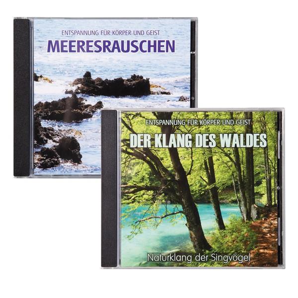 Zestaw płyt CD Odgłosy natury Las i Morze