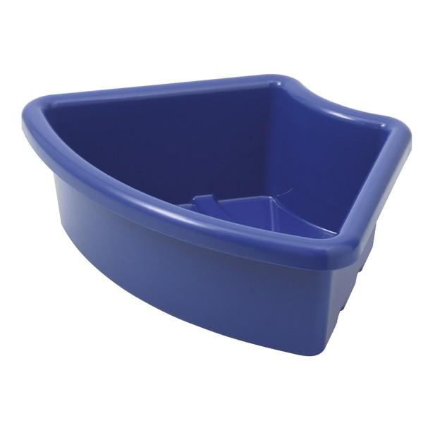 """Pojemnik na materiały """"Ćwierć koła"""" - niebieski"""