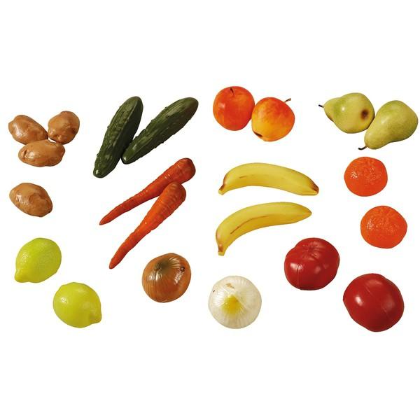 Asortyment warzyw i owoców