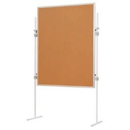 Tablica wolnostojąca korkowa, 150 x 120 cm
