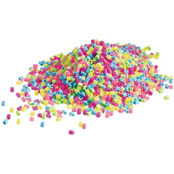 Koraliki do prasowania w butelce - mix pastelowy