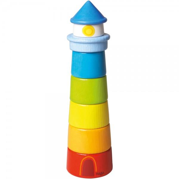 Gra w układanie wieży Latarnia morska