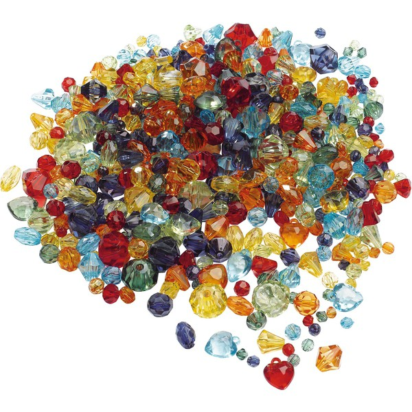 Koraliki-diamenty, 1000 sztuk