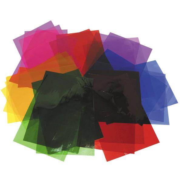 Zestaw kolorowych folii