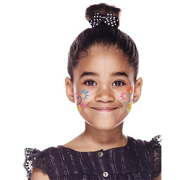 Szablony do malowania twarzy - motywy dla dziewczynek
