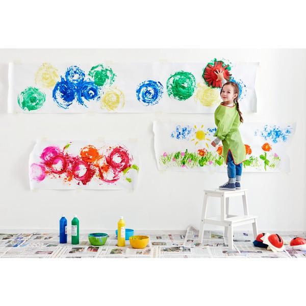 Pędzel strukturalny XXL do malowania dla dzieci, 4 szt.