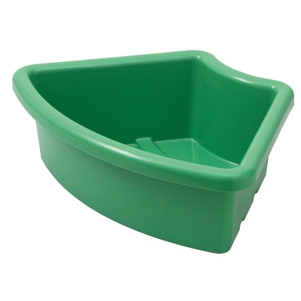 """Pojemnik na materiały """"Ćwierć koła"""" - zielony"""