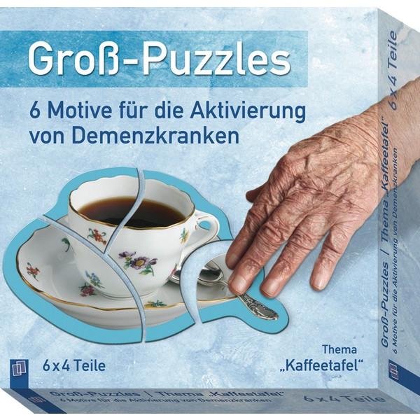 Duże puzzle Kawa