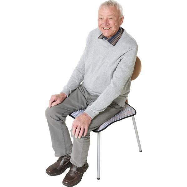 Nakładka na krzesło przy nietrzymaniu moczu, antypoślizgowa