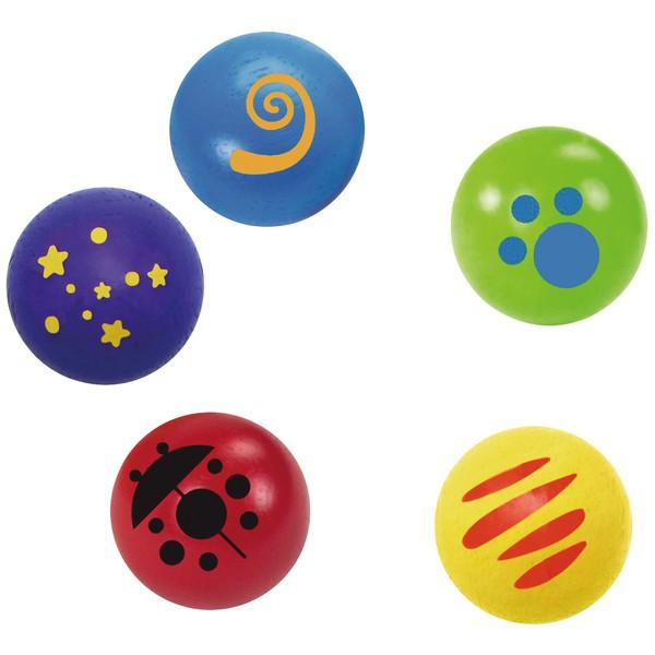Trix Track – kolorowe kulki, 5 sztuk , średnica 3 cm